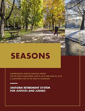 """2019 URSJJ CAFR Cover """"Seasons"""""""